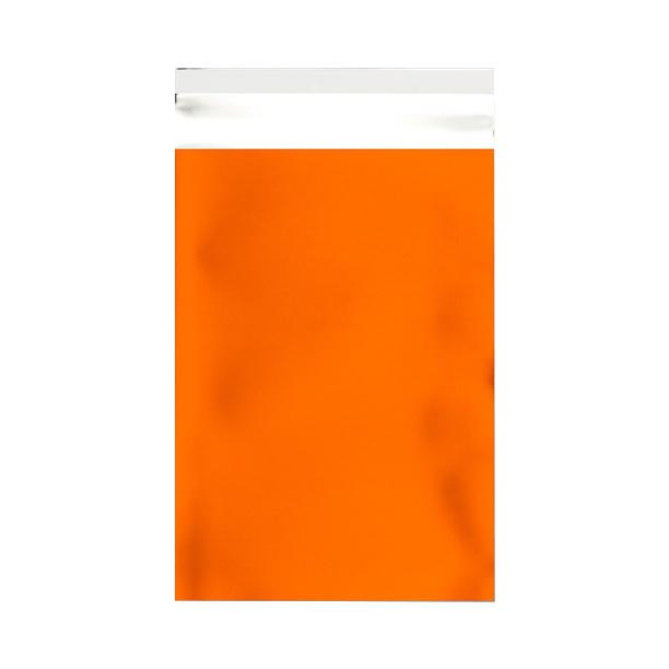 C5+ Matt Orange Metallic Foil Envelopes / Bags [Qty 250] 180 x 250mm (2131311132761)