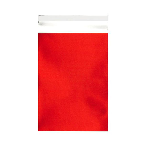 C5+ Matt Red Metallic Foil Envelopes / Bags [Qty 250] 180 x 250mm (2131311329369)
