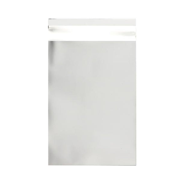 C5+ Matt Silver Metallic Foil Envelopes / Bags [Qty 250] 180 x 250mm