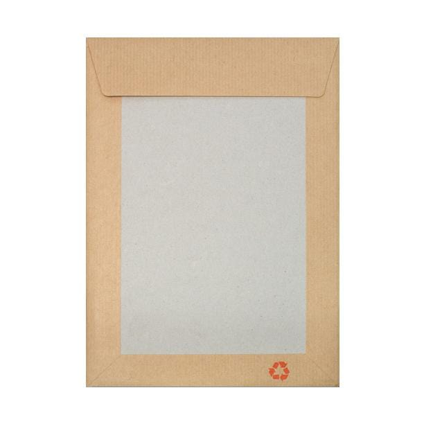178 x 254mm Board Back Envelopes - Please Do Not Bend [Qty 125] (2131326599257)
