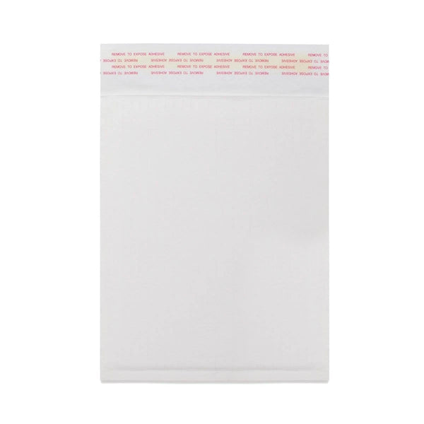 265 x 180mm White 160gsm Corrugated Padded Envelopes [Qty 100] (2131491323993)