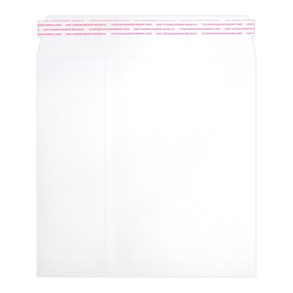 280 x 280 White Luxury 180gsm Peel & Seal Envelopes [Qty 200]