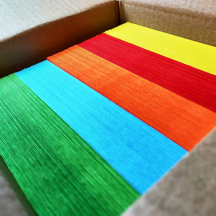 DL Multi Colour Mixed 120gsm Peel & Seal Envelopes [Qty 250] 114 x 229mm (2131474120793)