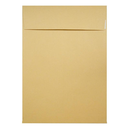 305 x 406 x 30mm Manilla Gusset 140gsm Peel & Seal Envelopes [Qty 125]