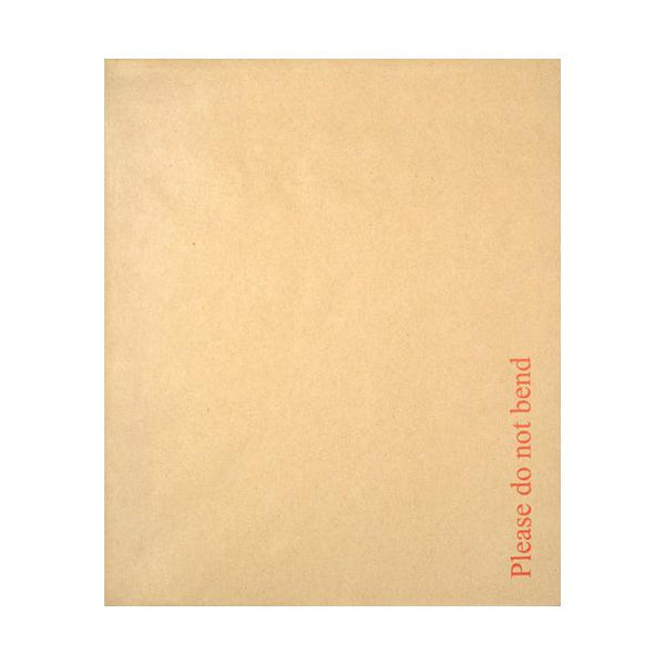 267 x 318mm Board Back Envelopes - Please Do Not Bend [Qty 125] (2131326795865)