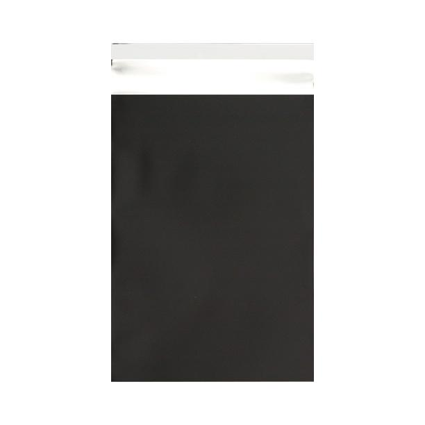 C4 Matt Black Metallic Foil Postal Envelopes / Bags [Qty 100] 230 x 320mm