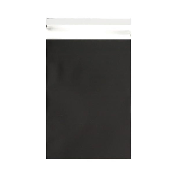 C4 Matt Black Metallic Foil Postal Envelopes / Bags [Qty 100] 230 x 320mm (2131311558745)
