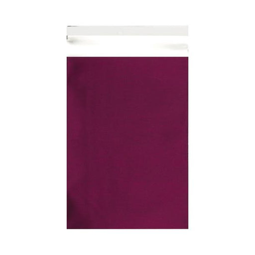 C4 Matt Burgundy Metallic Foil Postal Envelopes / Bags [Qty 100] 230 x 320mm (2131311755353)