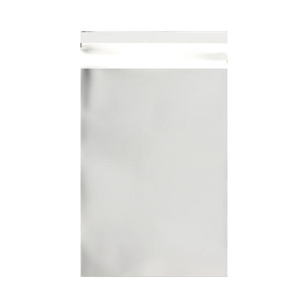 C4 Matt Silver Metallic Foil Postal Envelopes / Bags [Qty 100] 230 x 320mm (2131312181337)
