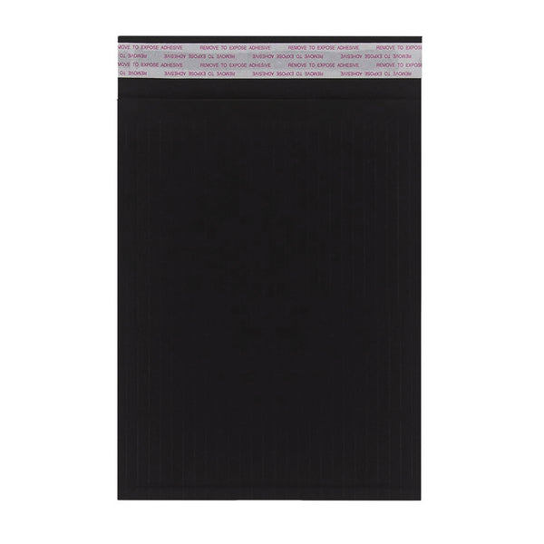 340 x 240mm Black 180gsm Recyclable Corrugated Bags [Qty 100] (4441064538201)