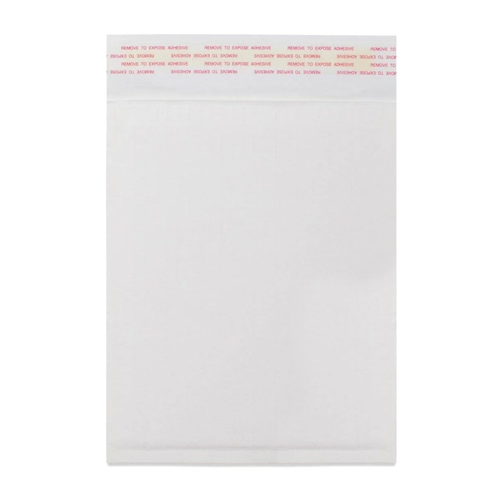 340 x 240mm White 160gsm Corrugated Padded Envelopes [Qty 100] (2131492339801)