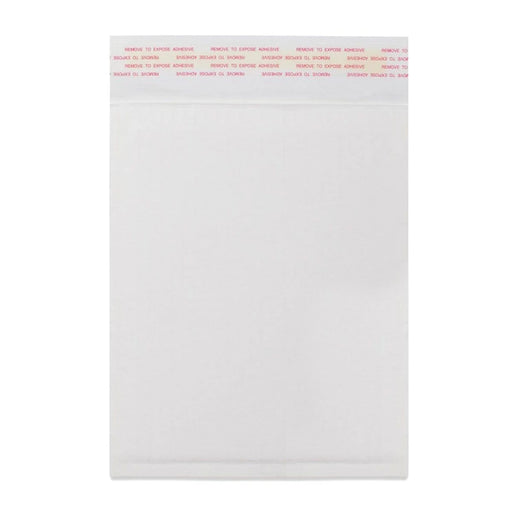 340 x 240mm White 160gsm Corrugated Padded Envelopes [Qty 100]