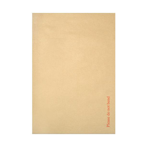 368 x 465mm Board Back Envelopes - Please Do Not Bend [Qty 100]