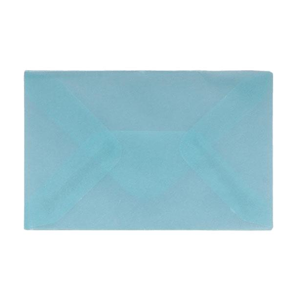 62 x 98 Translucent Baby Blue Gummed Envelopes