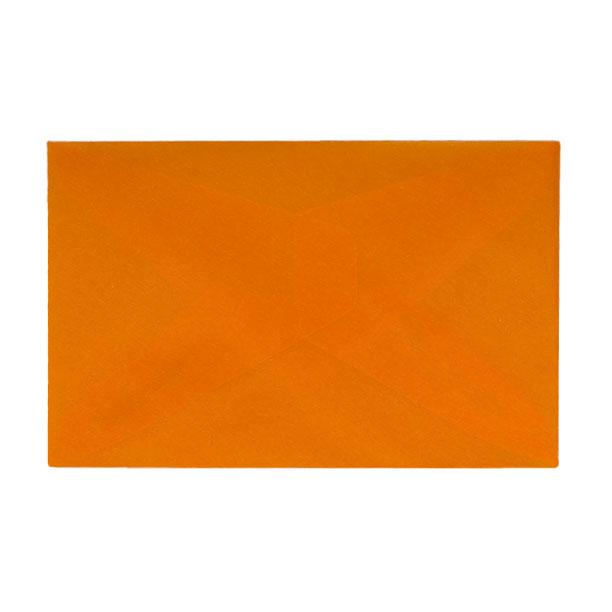 62 x 98 Translucent Sunset Orange Gummed Envelopes [Qty 200]