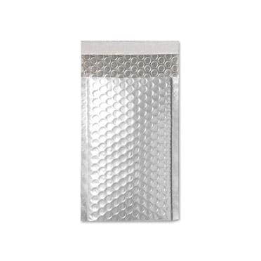 90 x 145 Matt Silver Padded Bubble Envelopes [Qty 100]