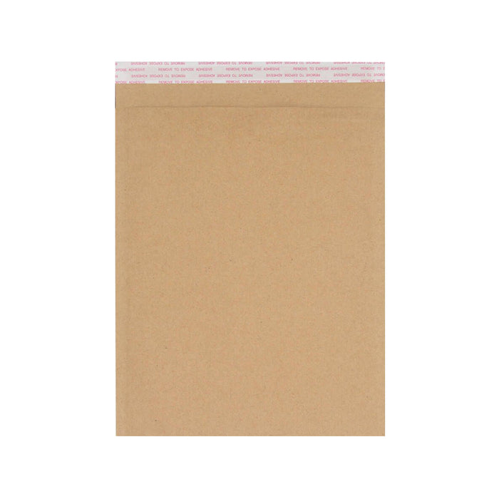 340mm x 240mm Recycled Manilla Padded Bubble Bag Mailer Envelope [Qty 100]