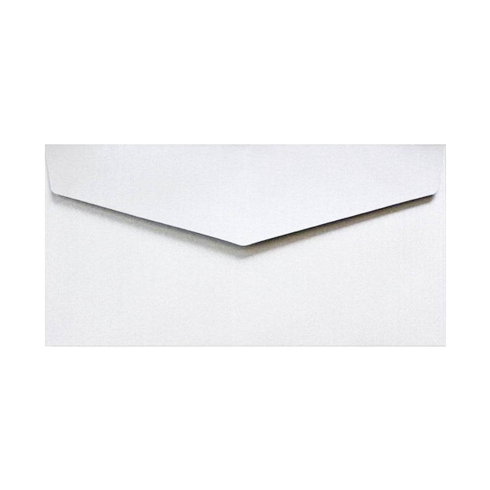 DL White V Flap Peel & Seal Envelopes [Qty 250] 110 x 220mm (2131379683417)
