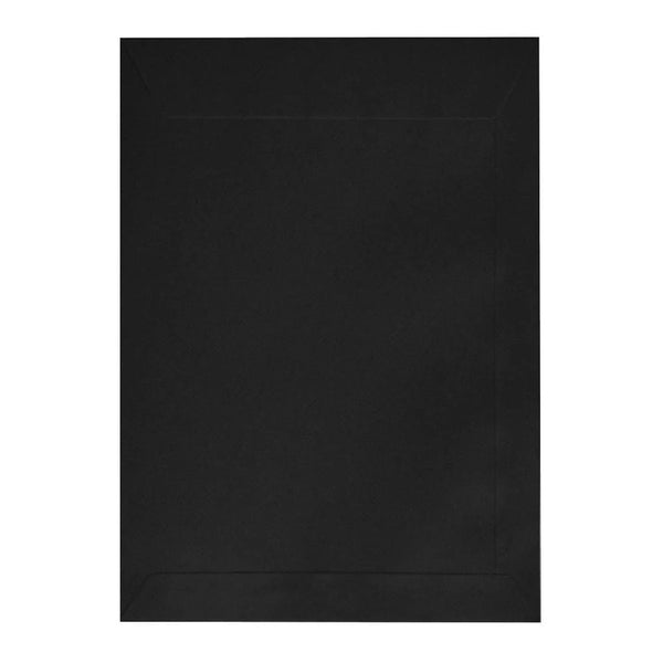 C5 Black Luxury 180gsm Peel & Seal Pocket Envelopes [Qty 250]