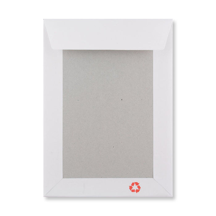 C5 (A5) White Board Back Envelopes - Please Do Not Bend [Qty 125] 162 x 229mm