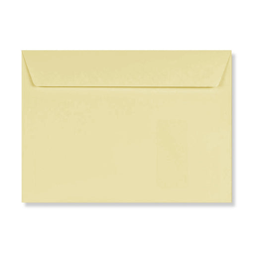 C4 Conqueror Cream 120gsm Laid Window Peel & Seal Wallet Envelopes [Qty 250] 324 x 229mm