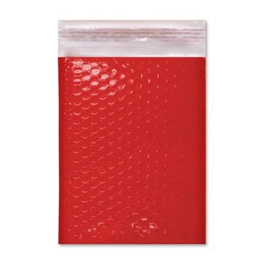 C4 Gloss Red Padded Bubble Envelopes [Qty 100] 240mm x 340mm