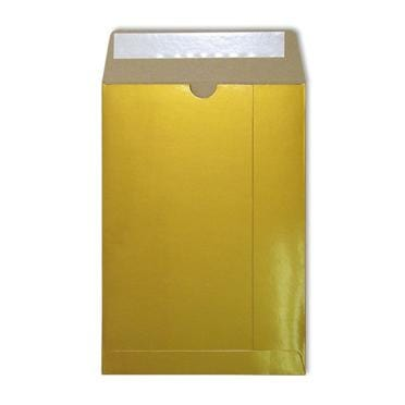 C4 Gold Gloss 350gsm All Board Envelopes [Qty 100] 229 x 324mm