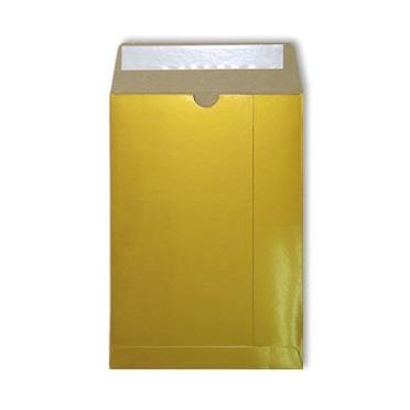 C5 Gold Gloss 350gsm All Board Envelopes [Qty 100] 162 x 235mm