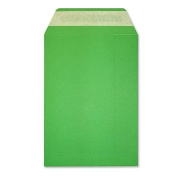 C5 Green 225gsm Peel & Seal Envelopes [Qty 200] 162 x 229mm