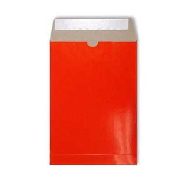 C5 Red Gloss 350gsm All Board Envelopes [Qty 100] 162 x 235mm