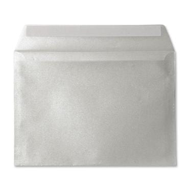 114 X 162 Translucent C6 Silver Peel & Seal Envelopes [Qty 100]
