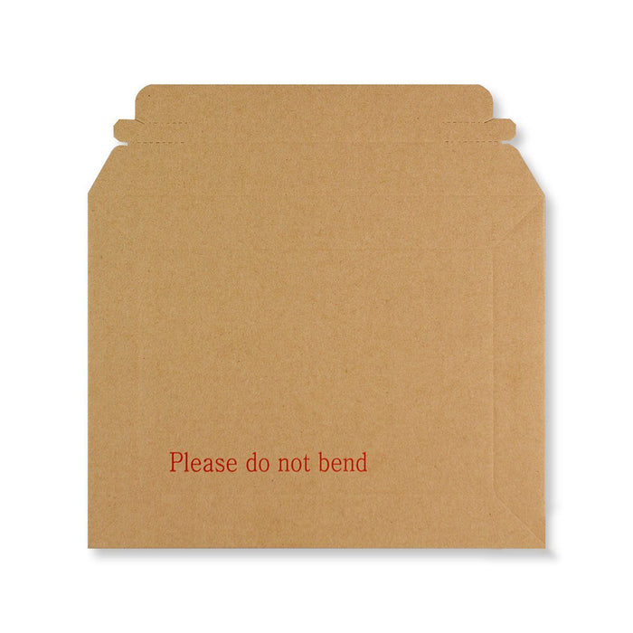 Rigid Fluted Printed Cardboard Envelope 180 x 235mm [Qty 100] (4438195044441)