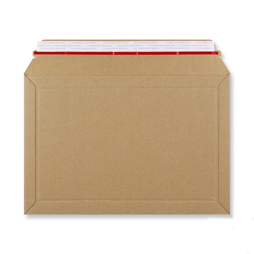 Rigid Fluted Cardboard Envelope 234 x 334mm [Qty 100] (4438256648281)