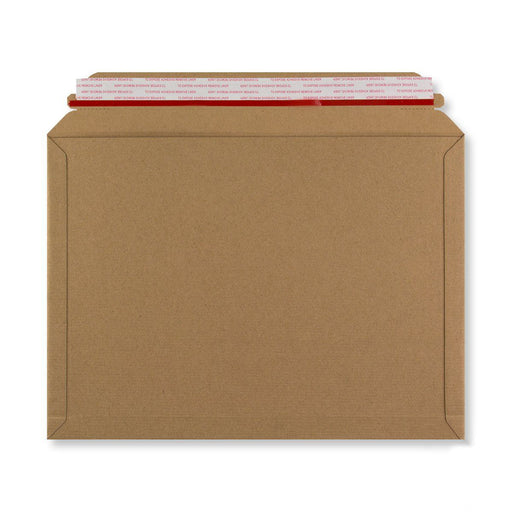 Rigid Fluted Cardboard Envelope 248 x 345mm [Qty 100] (4438261301337)