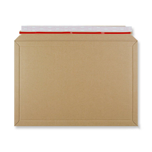 Rigid Fluted Cardboard Envelope 321 x 467mm [Qty 100] (4438301638745)