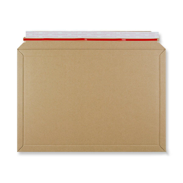 Rigid Fluted Cardboard Envelope 278 x 400mm [Qty 100] (4438294954073)