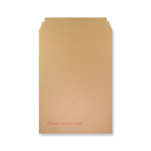 Rigid Fluted Printed Cardboard Envelope 460 x 330mm [Qty 100] (4438367436889)