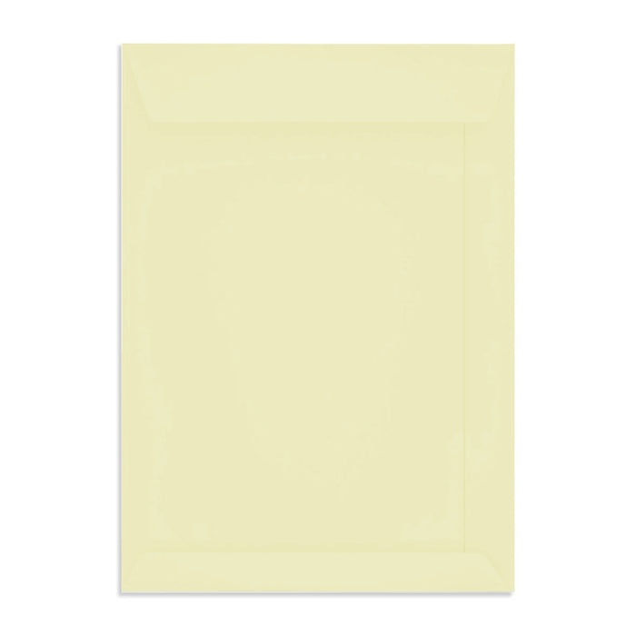 C4 Conqueror Cream 120gsm Wove Peel & Seal Pocket Envelopes [Qty 250] 229 x 324mm (4340994375769)