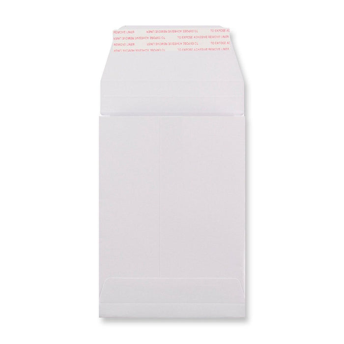 C6 White Luxury Pocket Gusset 180gsm Peel & Seal Envelopes [Qty 200] 162 x 114 x 25mm (4470145744985)