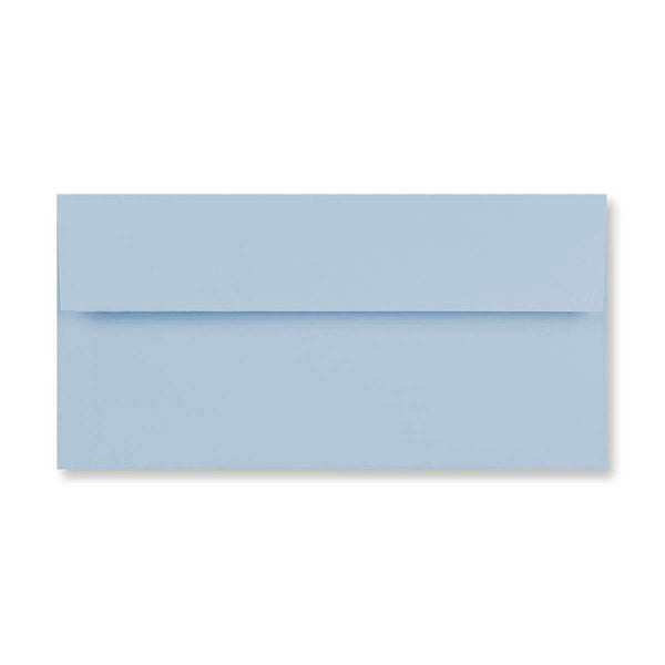 DL Conqueror Sky Blue 120gsm Laid Peel & Seal Wallet Envelopes [Qty 500] 110 x 220mm (4423998701657)