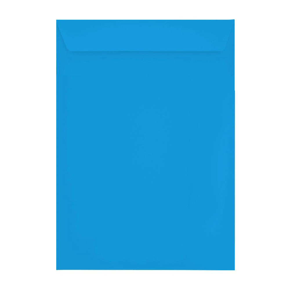 C4 Deep Blue 120gsm Peel & Seal Envelopes [Qty 250] 229 x 324mm (2131098665049)