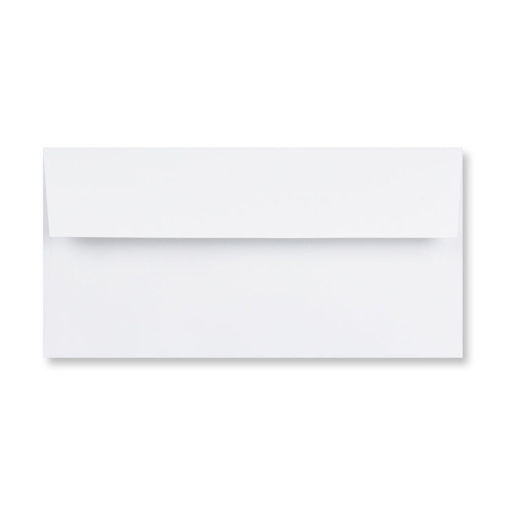 DL Conqueror Brilliant White 120gsm Laid Gummed Wallet Envelopes [Qty 500] 110 x 220mm (4324951949401)