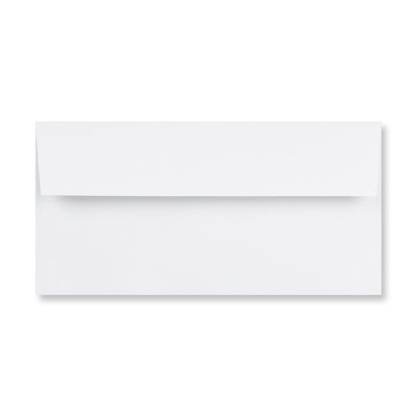 DL Conqueror Diamond White 120gsm Laid Peel & Seal Wallet Envelopes [Qty 250] 110 x 220mm (4324974166105)