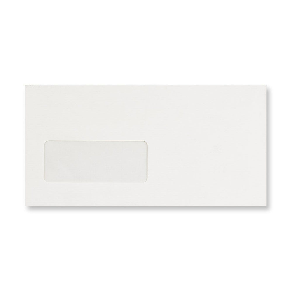 DL Conqueror Diamond White Window 120gsm Laid Peel & Seal Wallet Envelopes [Qty 500] 110 x 220mm (4324953718873)