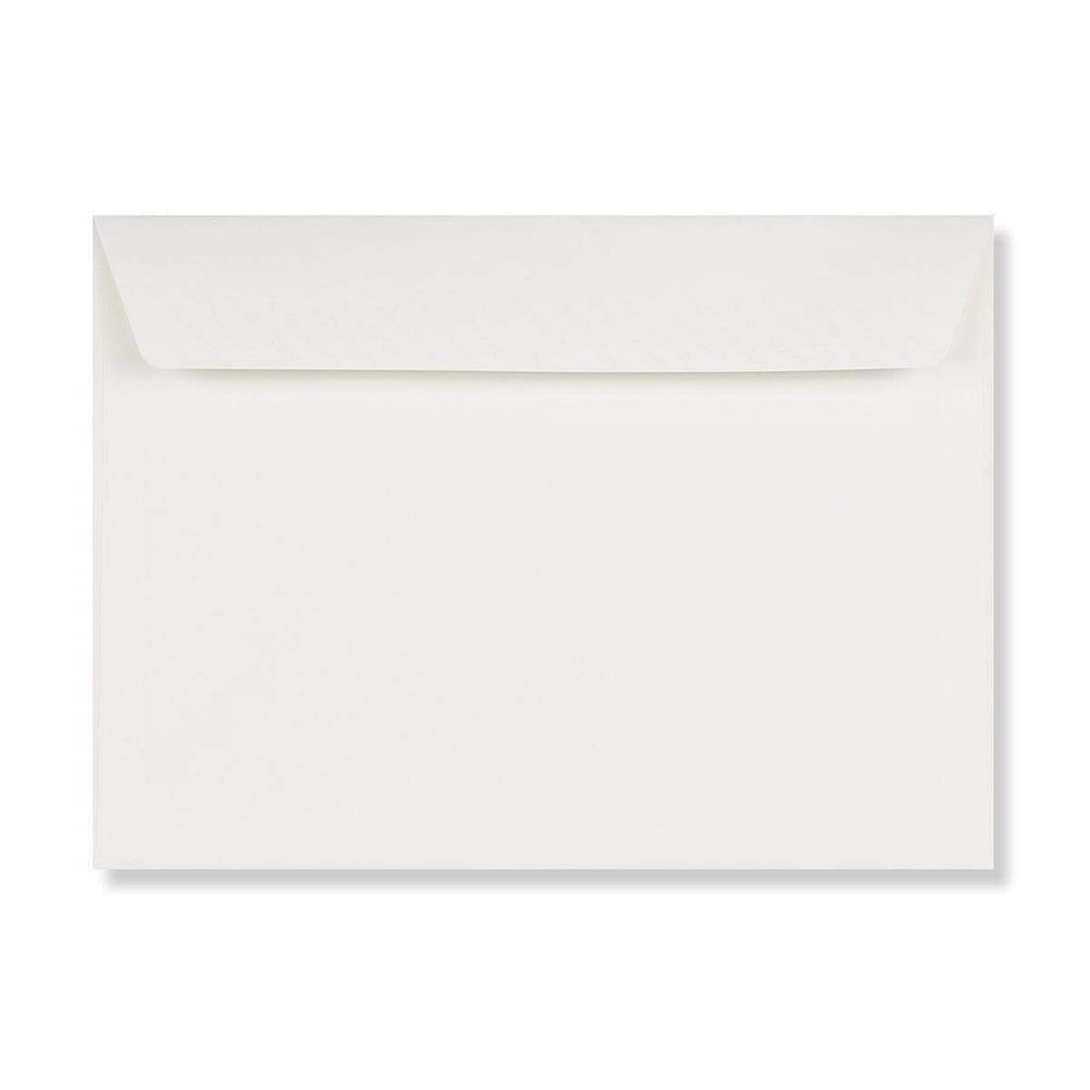 C4 Conqueror Brilliant White 120gsm Peel & Seal Wallet Envelopes [Qty 250] 229 x 324mm (4340973469785)