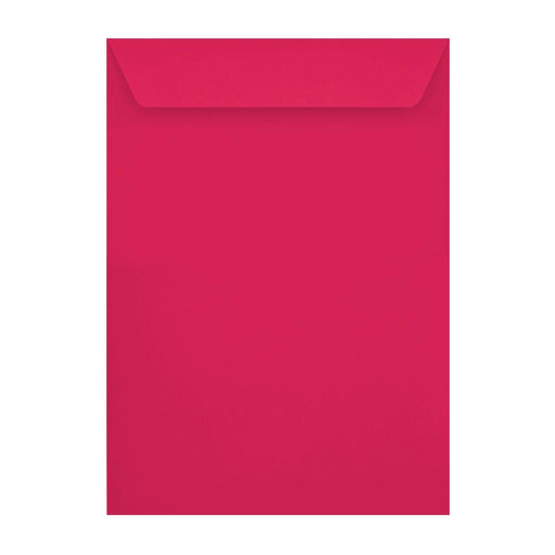 C4 Shocking Pink 120gsm Peel & Seal Envelopes [Qty 250] 229 x 324mm