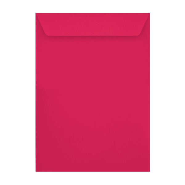 C4 Shocking Pink 120gsm Peel & Seal Envelopes [Qty 250] 229 x 324mm (2131286163545)