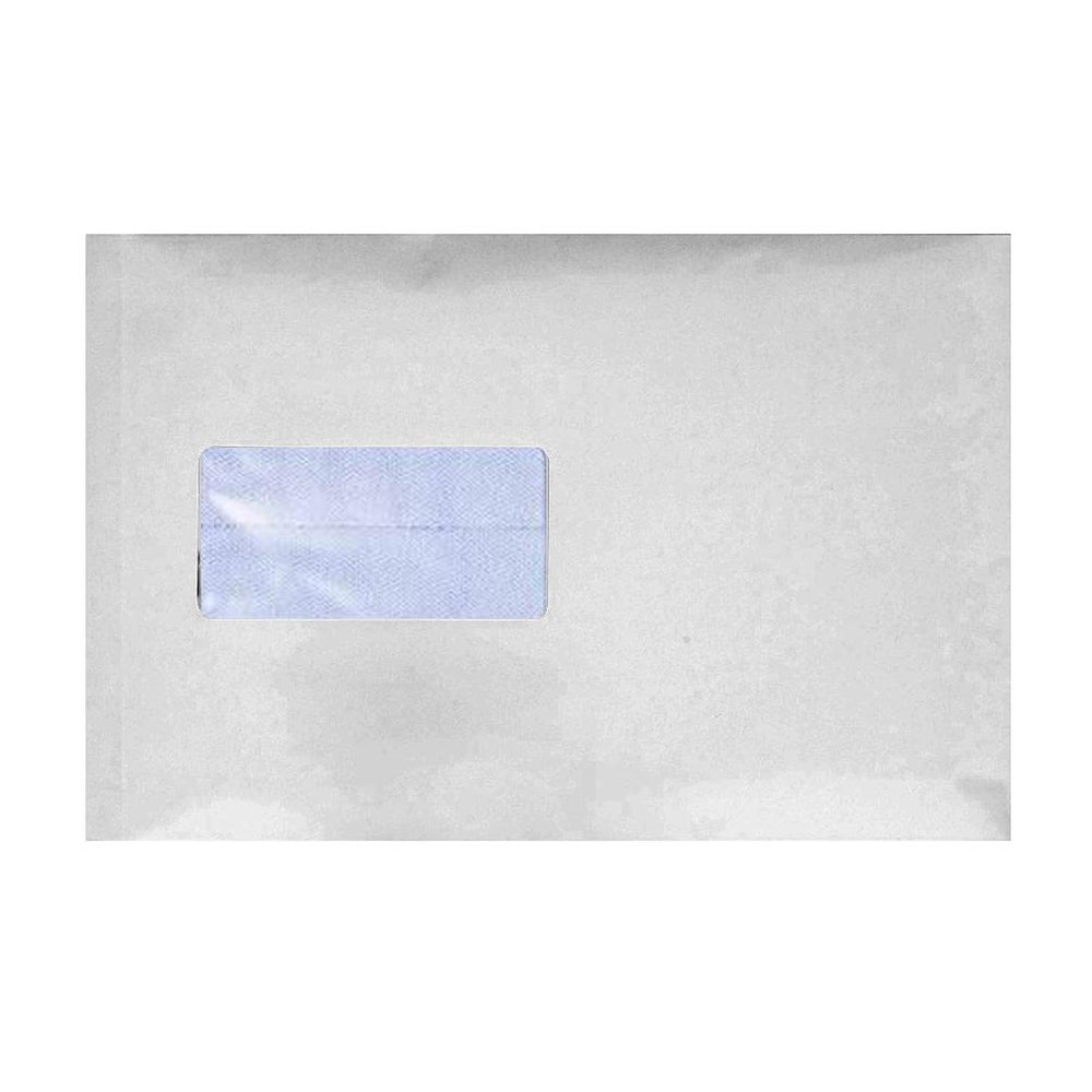 C5 White Gusset Window 120gsm Peel & Seal Envelopes [Qty 125] 162 x 229 x 25mm (2131120291929)