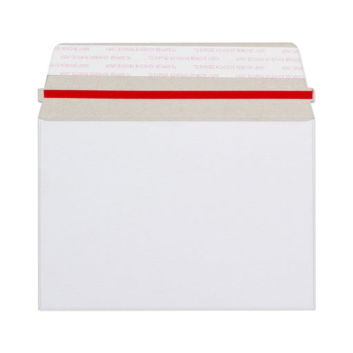 C6 White 350gsm Board Peel & Seal Wallet Envelopes [Qty 200] 114mm x 162mm