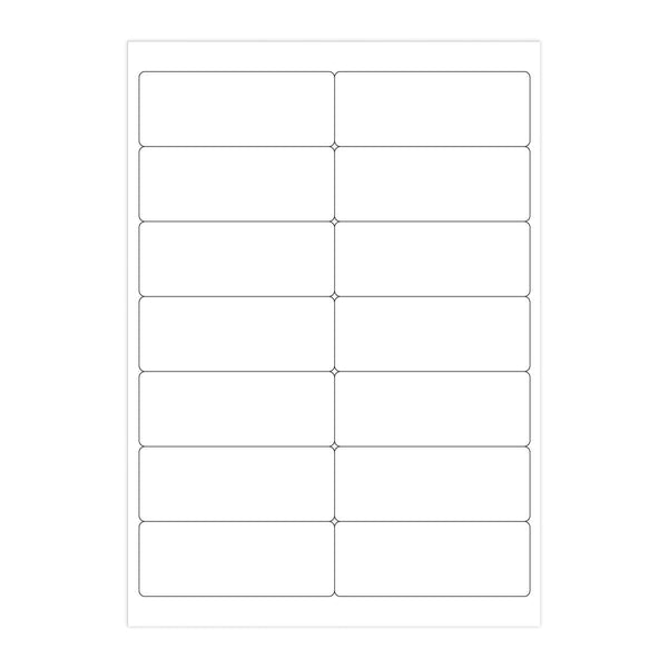 A4 White Address Labels - 14 Per Sheet [40 Sheets] (2131406422105)